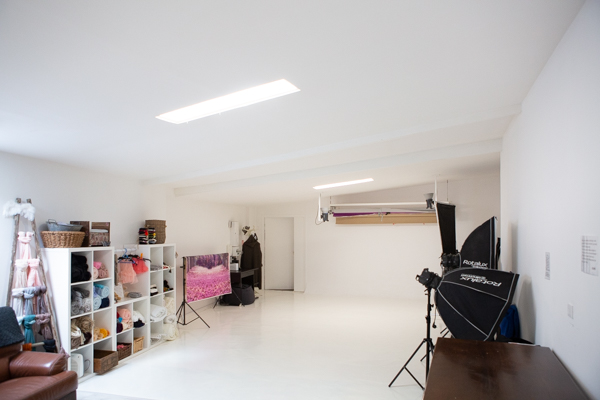 Grand studio de photographie